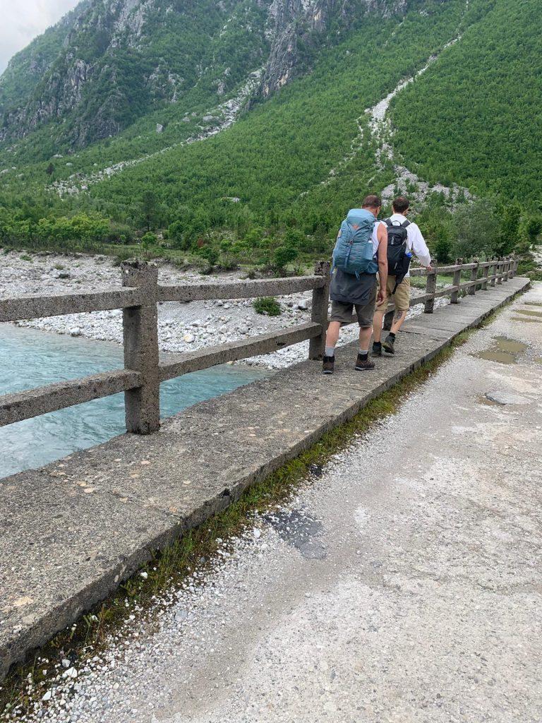 Albanien Berge